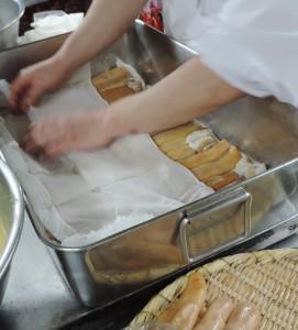 おせち作り -カラスミ編 その3-