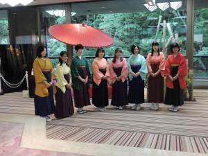 前夜祭にて対戦相手決定!会津中央病院杯女流囲碁トーナメント戦
