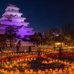 ★ 会津の冬の人気イベント!会津絵ろうそく祭り ~2月8日・9日~ ★