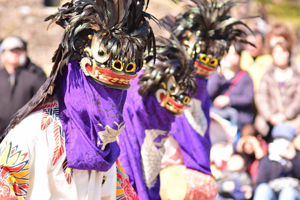 3月の会津といえば『会津彼岸獅子』